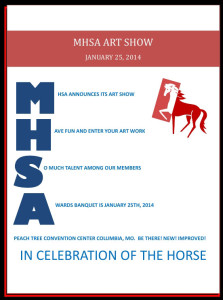 MHSA Art Show - In Celebration of the Horse